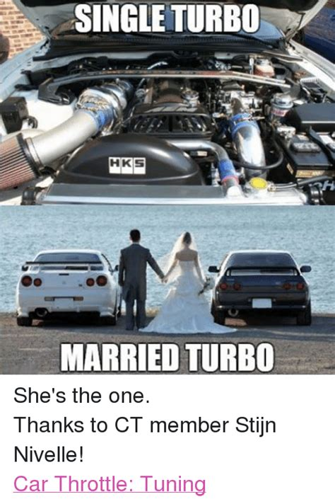 Turbo Car Memes - single turbo hkis married turbo she s the one thanks to ct