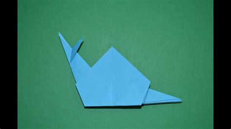 Como hacer un caracol de papel facil (origami) YouTube