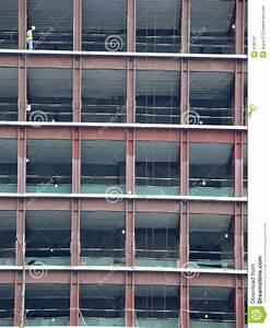 Skeleton Of The Future Skyscraper Royalty Free Stock ...