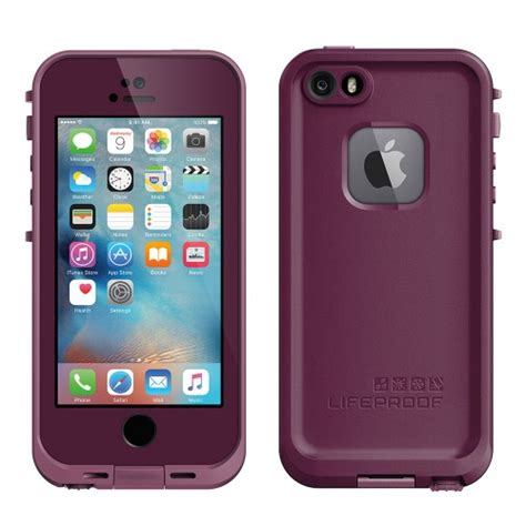 purple lifeproof iphone 5s lifeproof fre for iphone 5s se purple