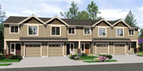 house plans  sale fourplex  plex quadplex plans