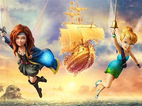 cartoon tinker bell   pirate fairy fantasy adventure