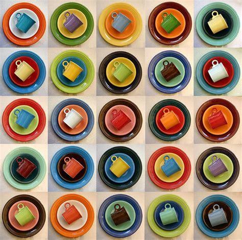 fiesta fiestaware combinations ware dishes combos table colors dinnerware kitchen chart colour sets jigidi explore