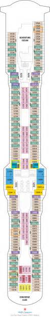 Anthem Of The Seas Deck Plan 12 by Anthem Of The Seas Deck Plans Deck 12 What S On Deck