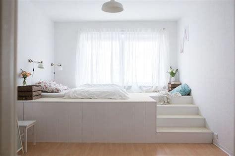 Bett Mit Podest by Die Besten 25 Podestbett Ideen Auf Ikea
