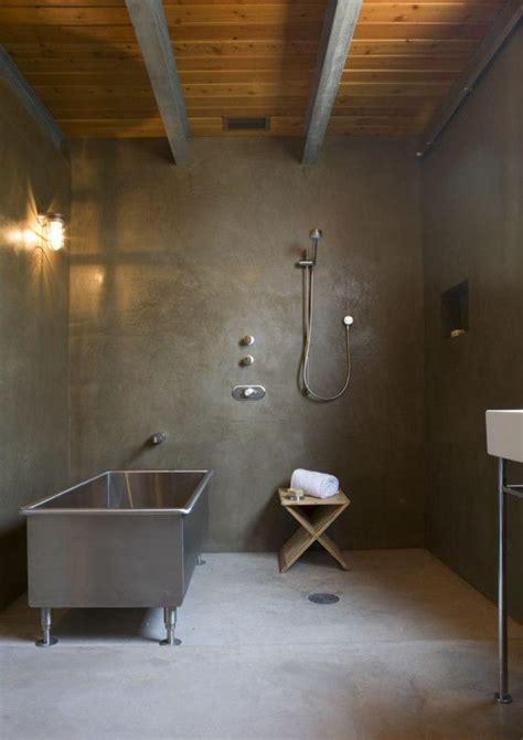 Kitchen Walls Ideas - 15 bold bathroom designs with concrete walls rilane
