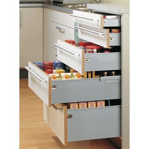 cuisine blum kit tiroir multitech hauteur 86 mm coulisse à galets