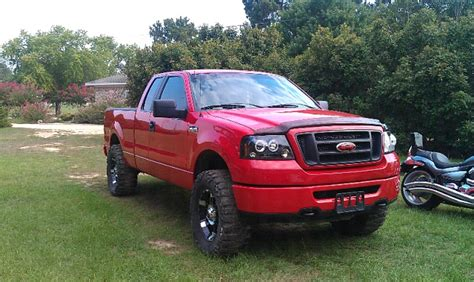 pictures  leveled trucks   ford  forum