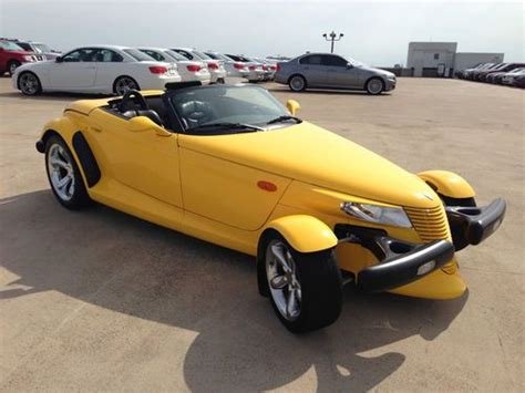 automobile air conditioning repair 2000 plymouth prowler spare parts catalogs find used 2000 plymouth prowler yellow hard to find