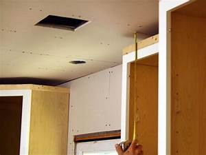 how to install kitchen cabinet crown molding how tos diy With what kind of paint to use on kitchen cabinets for father s day stickers