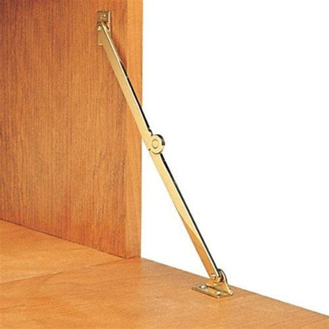 Drop Front Desk Hinge by Solid Brass Lid Support Drop Front Hardware Right