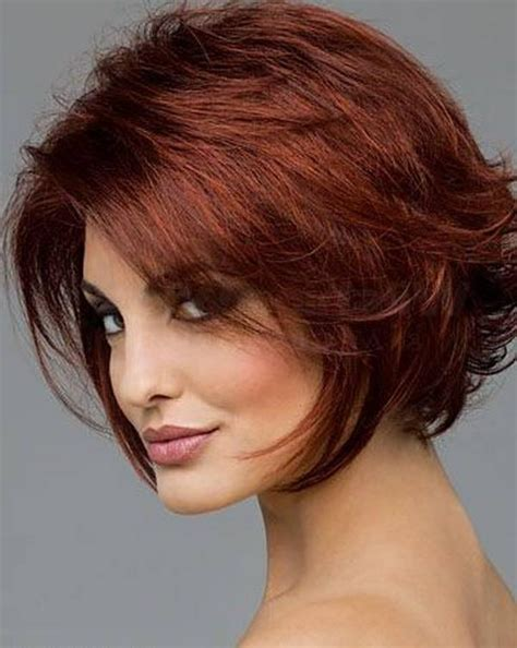 inspirations  short hairstyles   face
