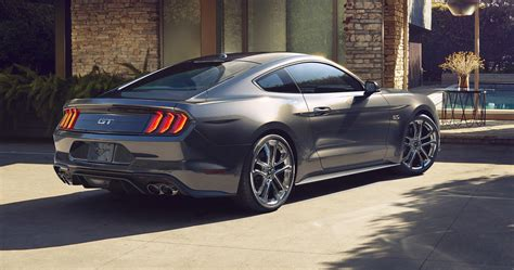 New Ford Mustang 2018 by 2018 Ford Mustang Revealed With New And More Power