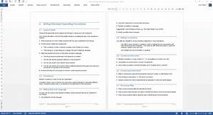 Standard Operating Procedure  Sop  Writing Guide  With