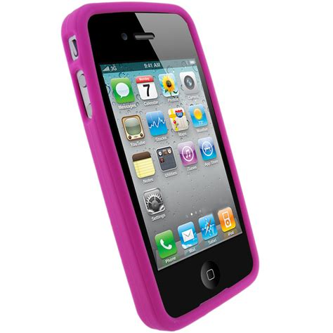 housse telephone iphone 4 silicone etui housse pour apple iphone 4 hd 4g 16gb 32gb 64gb coque ebay