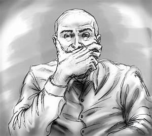 Thinking Man Sketch by Salvojj on DeviantArt