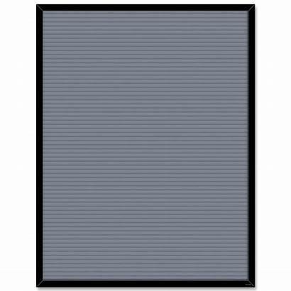 Letter Blank Board Gray Chart