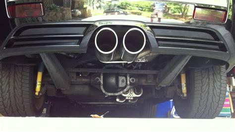 srt8 jeep exhaust jeep srt8 borla rev youtube