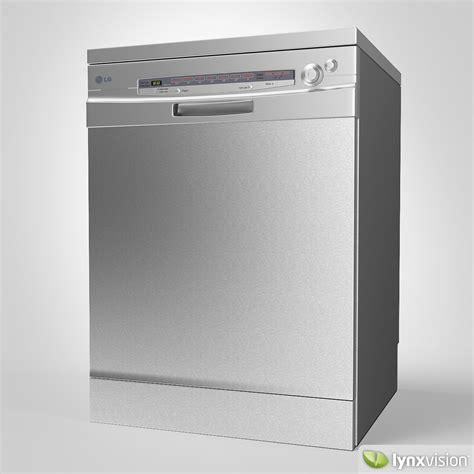 lg dishwasher lg dishwasher 3d model max obj fbx cgtrader com