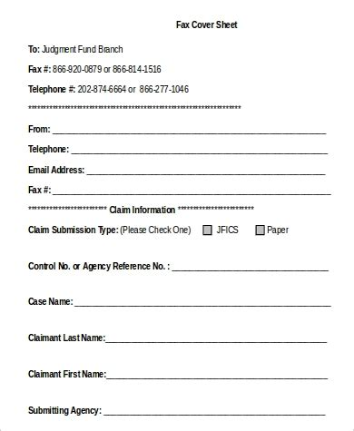 sample fax cover sheet microsoft word  examples  word
