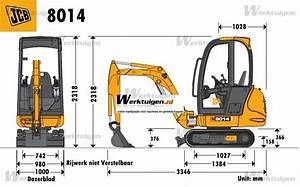 JCB 8014 - JCB - Machinery Specifications - Machinery