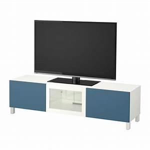 Ikea Tv Bank Besta : best tv bank mit schubladen und t r wei valviken ~ Lizthompson.info Haus und Dekorationen
