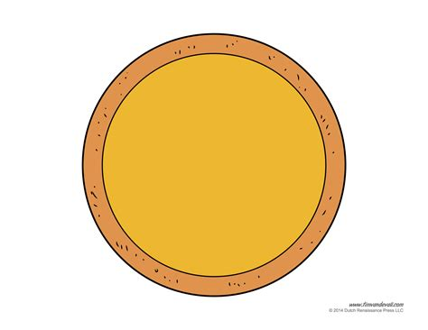 pizza template free pizza craft