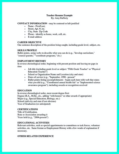 making simple college golf resume  basic  effective