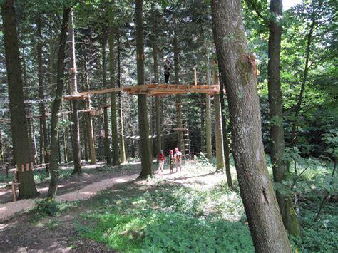 hochseilgarten huertgenwald klettern  der region aachen