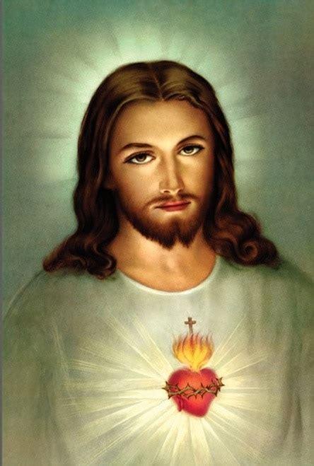 traditional sacred heart  jesus framed art catholic