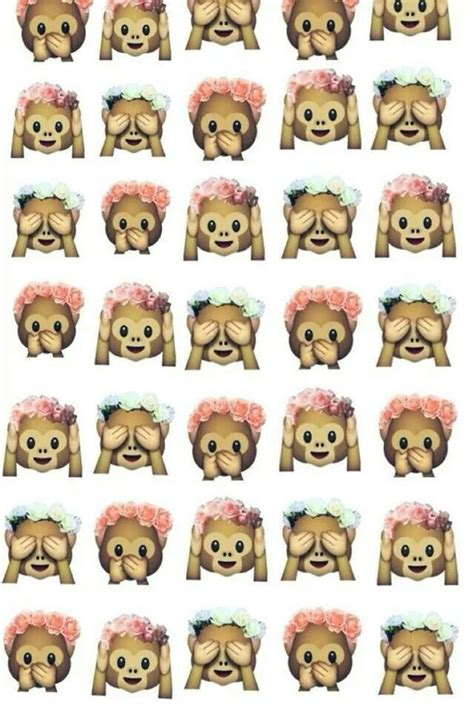 We have 76+ amazing background pictures carefully picked by our community. Combined emojis | Emoji backgrounds, Monkey emoji, Cute backgrounds
