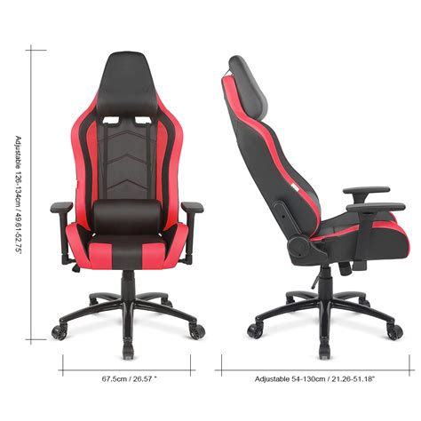 ergonomic acing sports gaming chair reclining computer