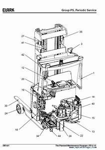 Clark Forklift Srx 14  16 Pdf Service Manual Download