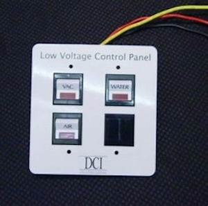 New Dci Low Voltage Triple Switch Control Panel For Dental