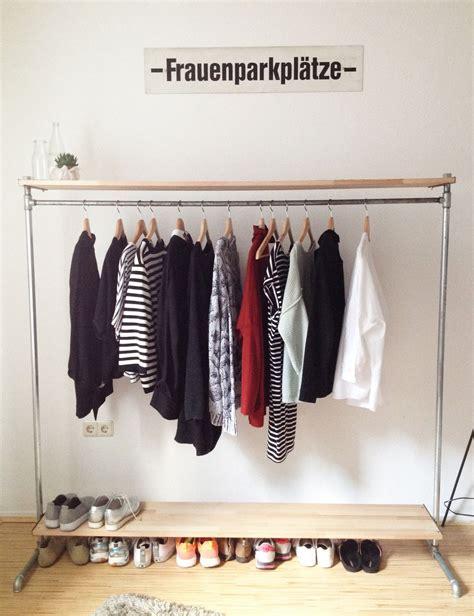 Stange Für Kleider frauenparkplatz aka diy kleiderstange diy wohnung