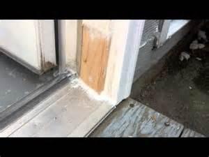 Exterior Door Frame Repair