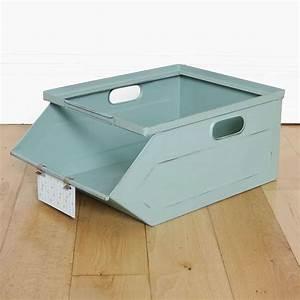 Caisse Metal Rangement : caisse de rangement m tallique ~ Teatrodelosmanantiales.com Idées de Décoration