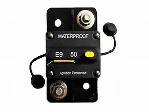 50a Manual Resetable Circuit Breaker