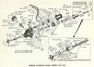 1954 1955 Cadillac Power Steering Gear