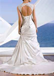 keyhole wedding dress picture of charming keyhole back wedding dresses