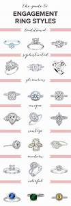 best 25 engagement ring styles ideas on pinterest With different types of wedding rings