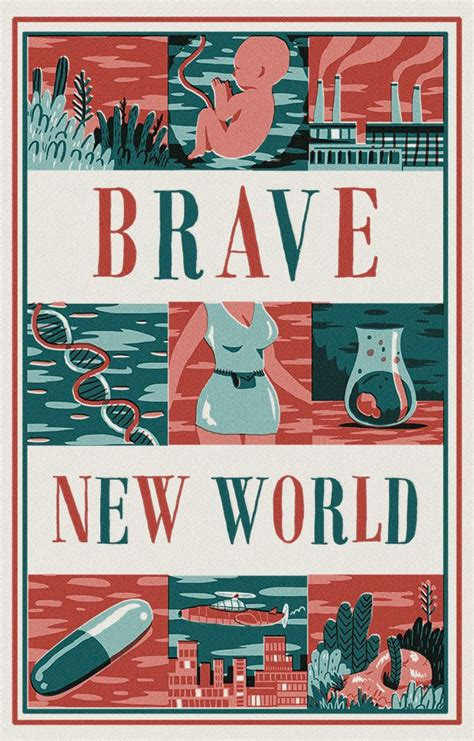 Creative Essay On Brave New World by Brave New World Cover Poster Andres Lozano Eng12