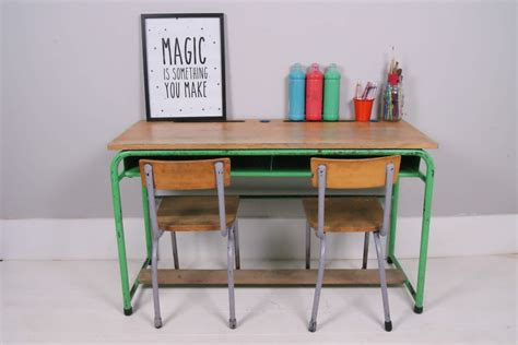 Children's Vintage Belgium Green Metal Legged Desk  Blue. White Desk Chair For Kids. Step Two Desk And Chair. Pottery Barn Mega Desk. 2 Drawer Cabinet. Soft Close Drawer Hardware Retrofit. Modern Industrial Coffee Table. Bumper Pool Table. Pool Table Mover