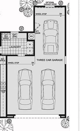 oconnorhomesinc.com | Endearing 3 Car Tandem Garage