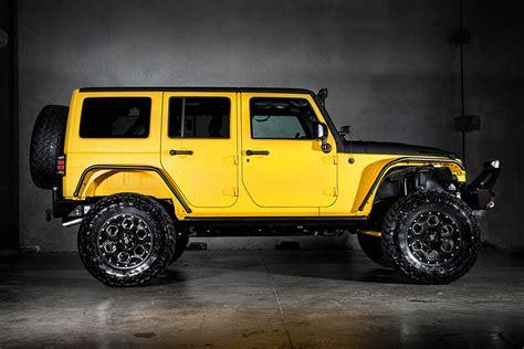 jeep yellow jeep wrangler yellow jacket by starwood motors hiconsumption