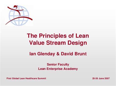 The Principles Of Lean Value Stream Design
