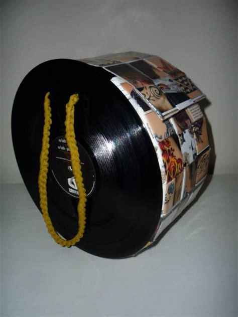 Tasche Aus Schallplatten tasche aus schallplatten und tattoomagazinen handmade kultur