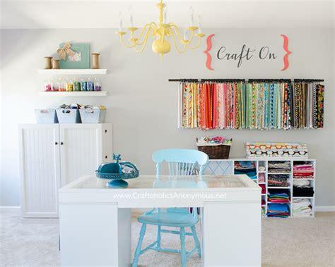 Craft Rooms : Craft Room Organization Ideas