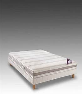 Pied De Sommier : ensemble matelas en latex sommier tapissier pieds de ~ Premium-room.com Idées de Décoration