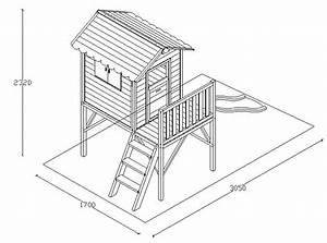 Plan De Cabane En Bois : cabane de jardin en bois sur pilotis doudou 60008 ~ Melissatoandfro.com Idées de Décoration